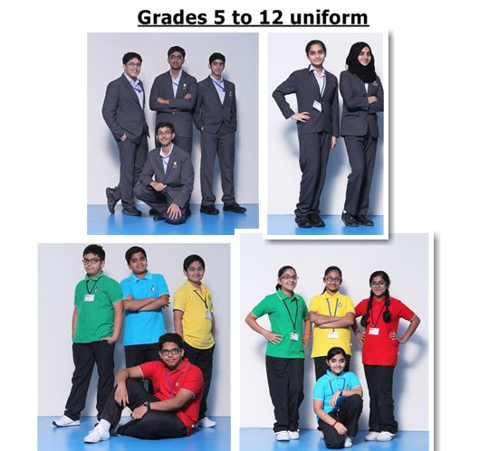 Grades 5 to 12 uniform 1